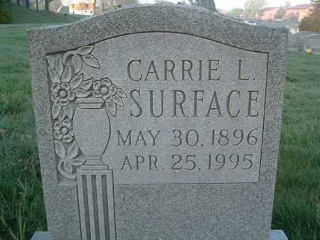 SURFACE, CARRIE L. - Montgomery County, Virginia   CARRIE L. SURFACE - Virginia Gravestone Photos