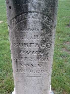 SURFACE, FANNIE KATHLEEN - Montgomery County, Virginia | FANNIE KATHLEEN SURFACE - Virginia Gravestone Photos