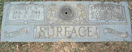 SURFACE, HUBERT V. - Montgomery County, Virginia | HUBERT V. SURFACE - Virginia Gravestone Photos