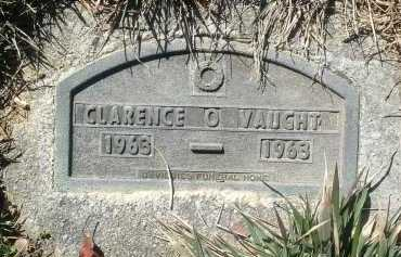 VAUGHT, CLARENCE O. - Montgomery County, Virginia   CLARENCE O. VAUGHT - Virginia Gravestone Photos