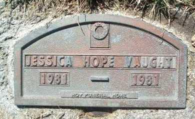 VAUGHT, JESSICA HOPE - Montgomery County, Virginia | JESSICA HOPE VAUGHT - Virginia Gravestone Photos