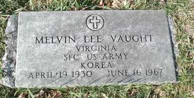 VAUGHT, MELVIN LEE - Montgomery County, Virginia | MELVIN LEE VAUGHT - Virginia Gravestone Photos