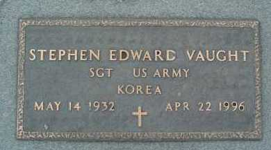 VAUGHT, STEPHEN EDWARD - Montgomery County, Virginia | STEPHEN EDWARD VAUGHT - Virginia Gravestone Photos