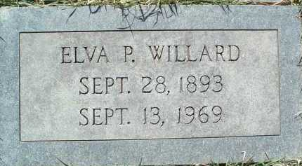 WILLARD, ELVA P. - Montgomery County, Virginia | ELVA P. WILLARD - Virginia Gravestone Photos