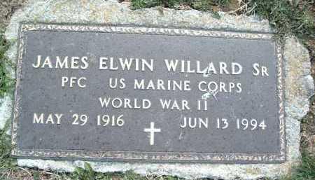 WILLARD, JAMES ELWIN SR. - Montgomery County, Virginia | JAMES ELWIN SR. WILLARD - Virginia Gravestone Photos