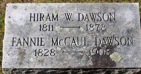 DAWSON, HIRAM W. - Nelson County, Virginia   HIRAM W. DAWSON - Virginia Gravestone Photos