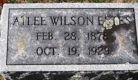 ESTES, ATLEE WILSON - Nelson County, Virginia | ATLEE WILSON ESTES - Virginia Gravestone Photos