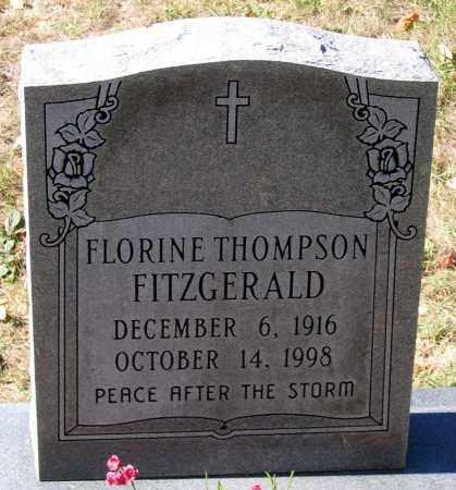 FITZGERALD, FLORINE THOMPSON - Nelson County, Virginia   FLORINE THOMPSON FITZGERALD - Virginia Gravestone Photos