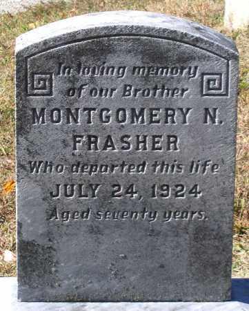 FRASHER, MONTGOMERY N. - Nelson County, Virginia   MONTGOMERY N. FRASHER - Virginia Gravestone Photos