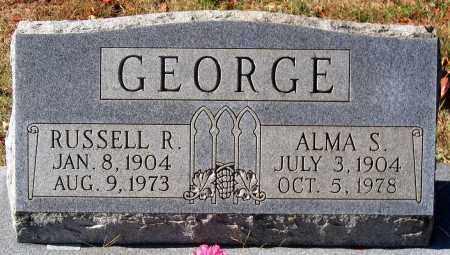GEORGE, ALMA S. - Nelson County, Virginia | ALMA S. GEORGE - Virginia Gravestone Photos