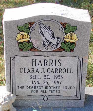 CARROLL HARRIS, CLARA J. - Nelson County, Virginia | CLARA J. CARROLL HARRIS - Virginia Gravestone Photos