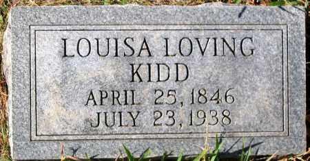 KIDD, LOUISA LOVING - Nelson County, Virginia | LOUISA LOVING KIDD - Virginia Gravestone Photos