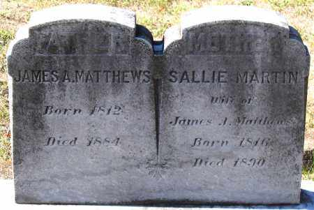 MATTHEWS, SALLIE - Nelson County, Virginia   SALLIE MATTHEWS - Virginia Gravestone Photos
