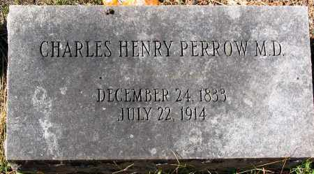PERROW, CHARLES HENRY - Nelson County, Virginia | CHARLES HENRY PERROW - Virginia Gravestone Photos