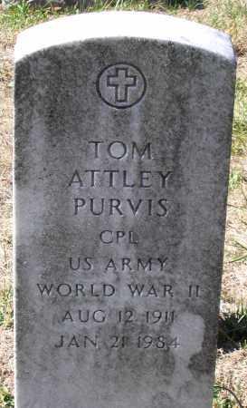 PURVIS, TOM ATTLEY - Nelson County, Virginia | TOM ATTLEY PURVIS - Virginia Gravestone Photos