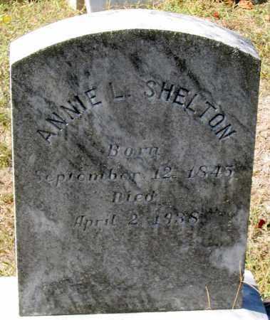 SHELTON, ANNIE L. - Nelson County, Virginia | ANNIE L. SHELTON - Virginia Gravestone Photos