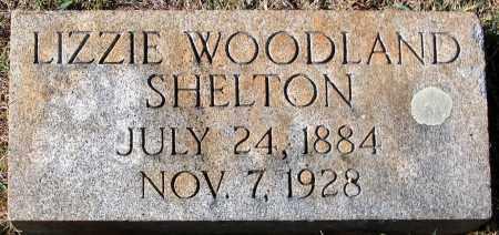 SHELTON, LIZZIE WOODLAND - Nelson County, Virginia   LIZZIE WOODLAND SHELTON - Virginia Gravestone Photos