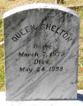 SHELTON, QUEEN - Nelson County, Virginia | QUEEN SHELTON - Virginia Gravestone Photos