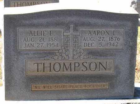 THOMPSON, AARON L. - Nelson County, Virginia | AARON L. THOMPSON - Virginia Gravestone Photos