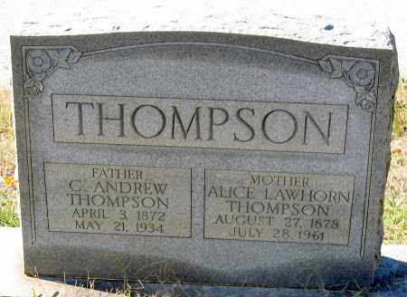 THOMPSON, ALICE - Nelson County, Virginia | ALICE THOMPSON - Virginia Gravestone Photos