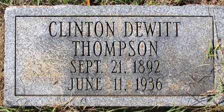 THOMPSON, CLINTON DEWITT - Nelson County, Virginia   CLINTON DEWITT THOMPSON - Virginia Gravestone Photos