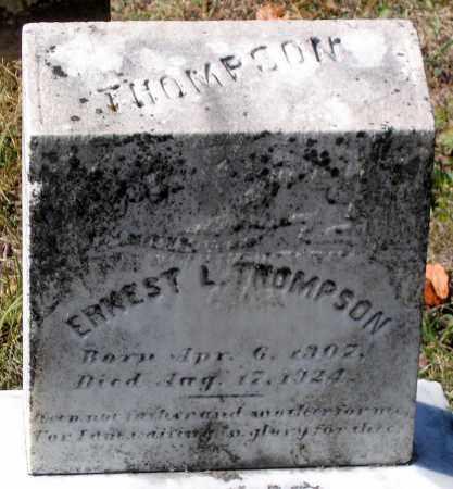 THOMPSON, ERNEST L. - Nelson County, Virginia | ERNEST L. THOMPSON - Virginia Gravestone Photos