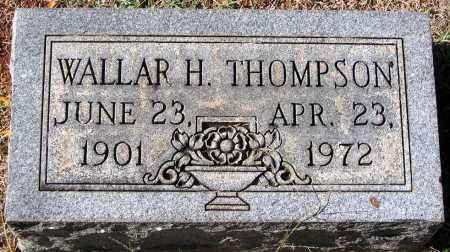 THOMPSON, WALLAR H. - Nelson County, Virginia | WALLAR H. THOMPSON - Virginia Gravestone Photos