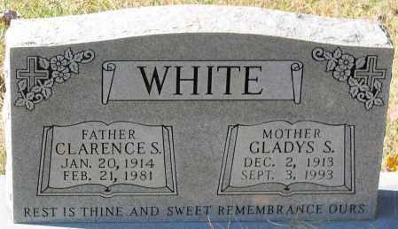 WHITE, GLADYS S. - Nelson County, Virginia | GLADYS S. WHITE - Virginia Gravestone Photos