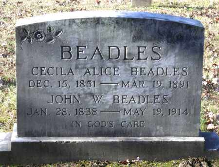 BEADLES, CECILA ALICE - New Kent County, Virginia | CECILA ALICE BEADLES - Virginia Gravestone Photos