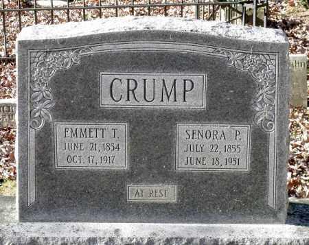 CRUMP, EMMETT T. - New Kent County, Virginia | EMMETT T. CRUMP - Virginia Gravestone Photos