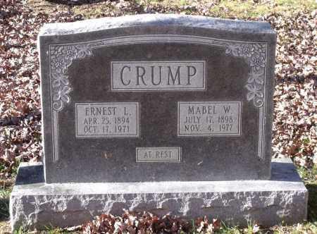 CRUMP, ERNEST L. - New Kent County, Virginia | ERNEST L. CRUMP - Virginia Gravestone Photos