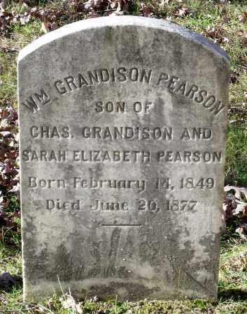 PEARSON, WILLIAM GRANDISON - New Kent County, Virginia   WILLIAM GRANDISON PEARSON - Virginia Gravestone Photos