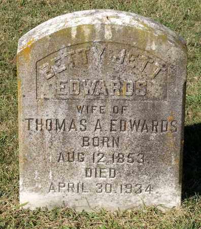 JETT EDWARDS, BETTY - Northumberland County, Virginia | BETTY JETT EDWARDS - Virginia Gravestone Photos
