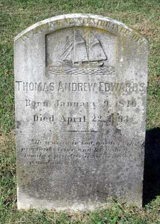 EDWARDS, THOMAS ANDREW - Northumberland County, Virginia | THOMAS ANDREW EDWARDS - Virginia Gravestone Photos