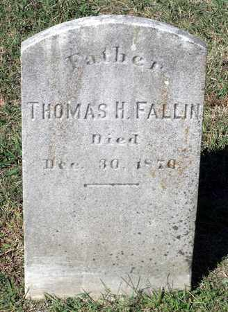 FALLIN, THOMAS H. - Northumberland County, Virginia | THOMAS H. FALLIN - Virginia Gravestone Photos
