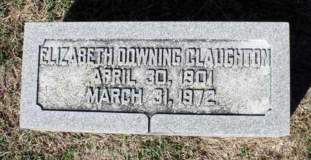CLAUGHTON, ELIZABETH - Northumberland County, Virginia | ELIZABETH CLAUGHTON - Virginia Gravestone Photos