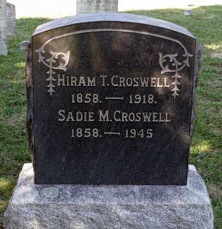 CROSWELL, HIRAM T. - Northumberland County, Virginia | HIRAM T. CROSWELL - Virginia Gravestone Photos