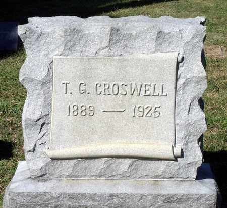CROSWELL, THOMAS G. - Northumberland County, Virginia | THOMAS G. CROSWELL - Virginia Gravestone Photos