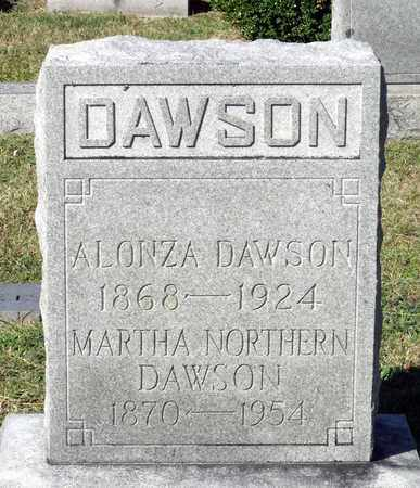 DAWSON, ALONZA - Northumberland County, Virginia | ALONZA DAWSON - Virginia Gravestone Photos