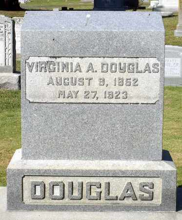 DOUGLAS, VIRGINIA A. - Northumberland County, Virginia | VIRGINIA A. DOUGLAS - Virginia Gravestone Photos