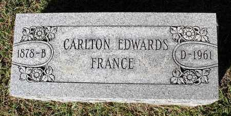FRANCE, CARLTON EDWARDS - Northumberland County, Virginia | CARLTON EDWARDS FRANCE - Virginia Gravestone Photos