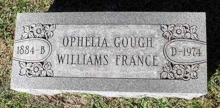 WILLIAMS FRANCE, OPHELIA GOUGH - Northumberland County, Virginia | OPHELIA GOUGH WILLIAMS FRANCE - Virginia Gravestone Photos