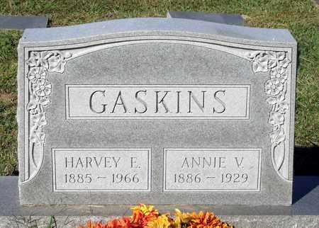 GASKINS, HARVEY E. - Northumberland County, Virginia | HARVEY E. GASKINS - Virginia Gravestone Photos
