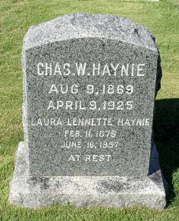 HAYNIE, LAURA LENNETTE - Northumberland County, Virginia | LAURA LENNETTE HAYNIE - Virginia Gravestone Photos
