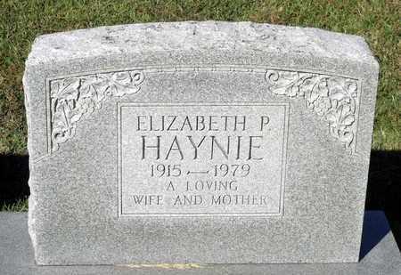 HAYNIE, ELIZABETH P. - Northumberland County, Virginia | ELIZABETH P. HAYNIE - Virginia Gravestone Photos