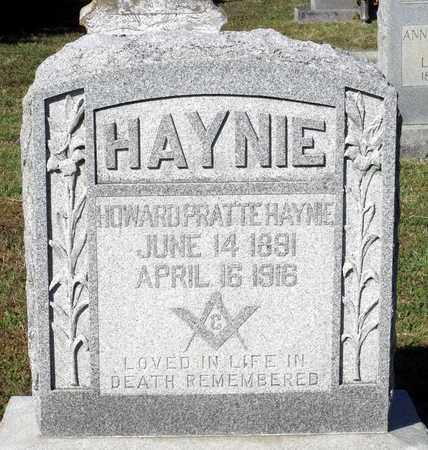 HAYNIE, HOWARD PRATTE - Northumberland County, Virginia | HOWARD PRATTE HAYNIE - Virginia Gravestone Photos