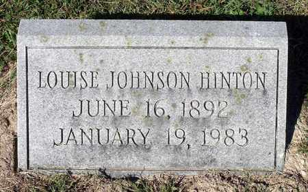 HINTON, LOUISE - Northumberland County, Virginia | LOUISE HINTON - Virginia Gravestone Photos