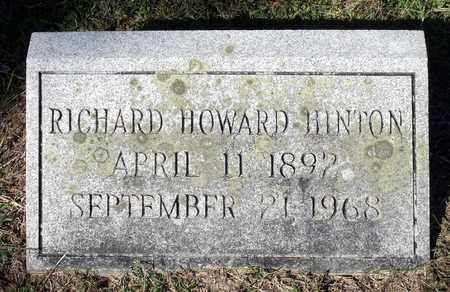 HINTON, RICHARD HOWARD - Northumberland County, Virginia | RICHARD HOWARD HINTON - Virginia Gravestone Photos