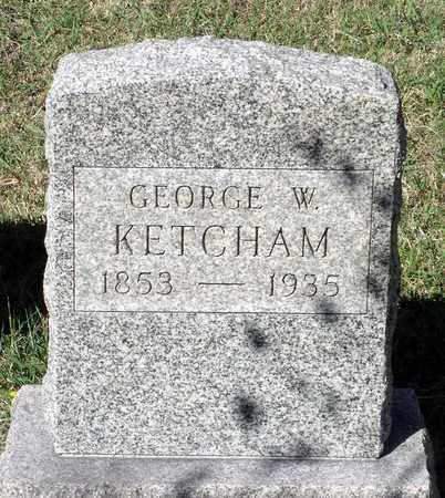 KETCHAM, GEORGE W. - Northumberland County, Virginia | GEORGE W. KETCHAM - Virginia Gravestone Photos