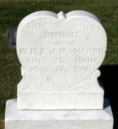 MARSH, DWIGHT - Northumberland County, Virginia | DWIGHT MARSH - Virginia Gravestone Photos